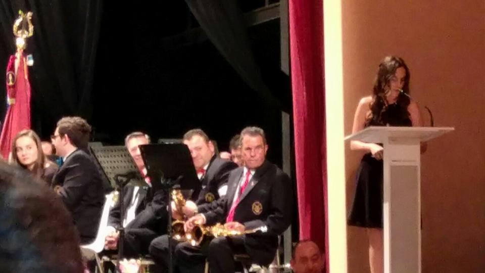 Presentación del concierto Navidad de la Agrupación Musical Iniestense