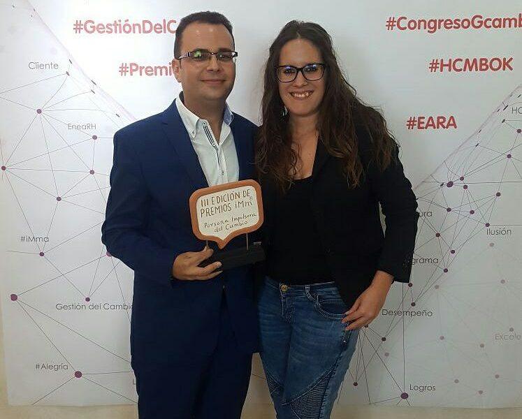 Pedro Martínez se alza con el premio del Imm Persona Impulsora del Cambio