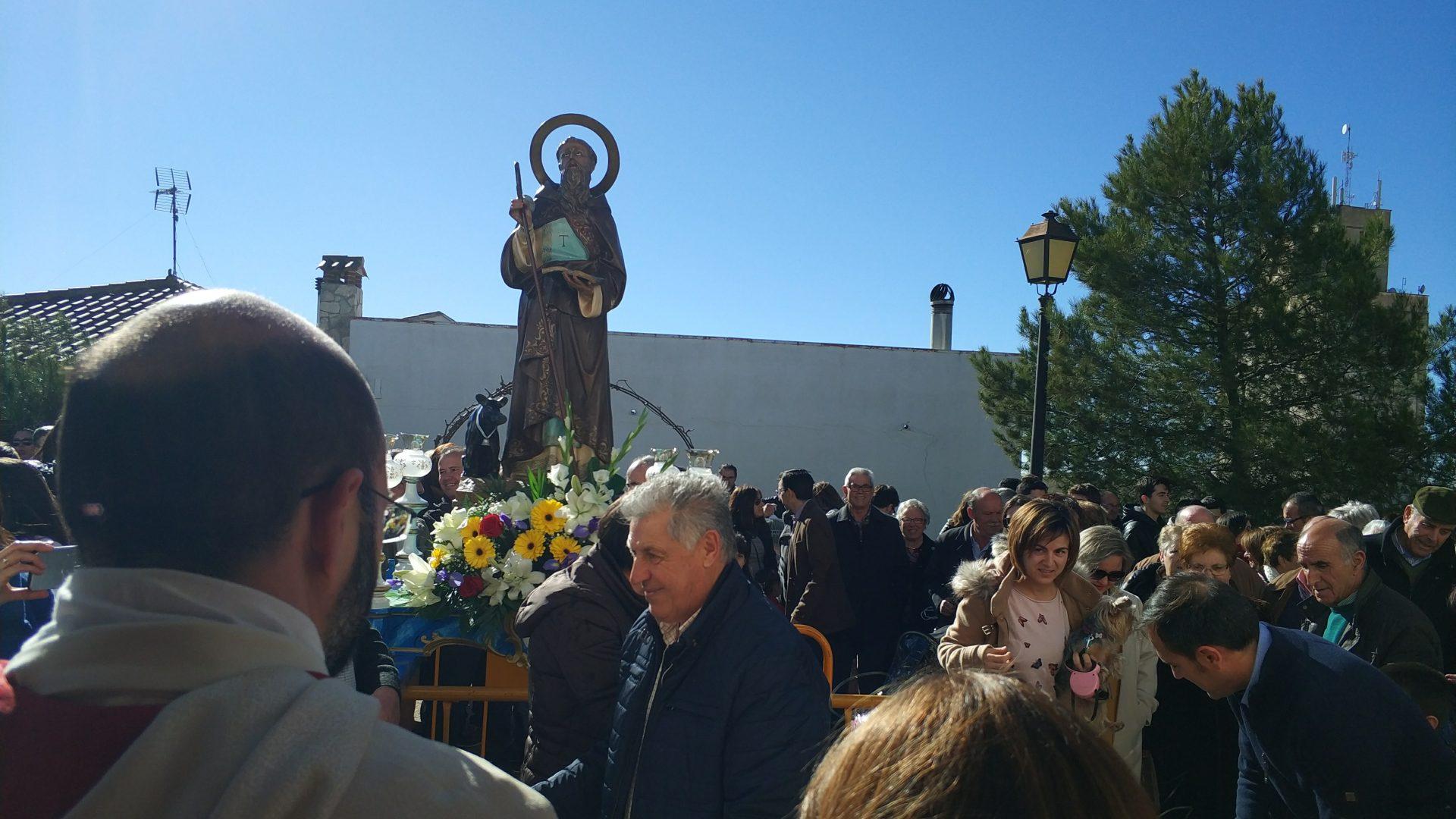 San Antón, una de las tradiciones más antiguas de Iniesta
