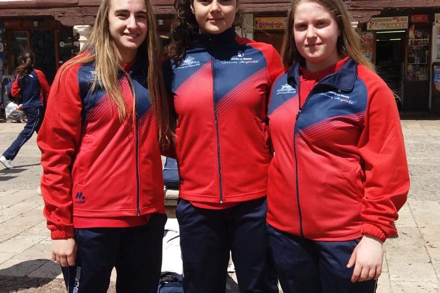 La selección de CLM de Voleibol convoca a María Talavera, Iris Álvarez y Laura Gómez para el Campeonato de España de Selecciones Autonómicas