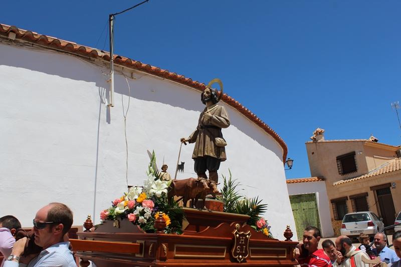 San Isidro, patrón de Iniesta