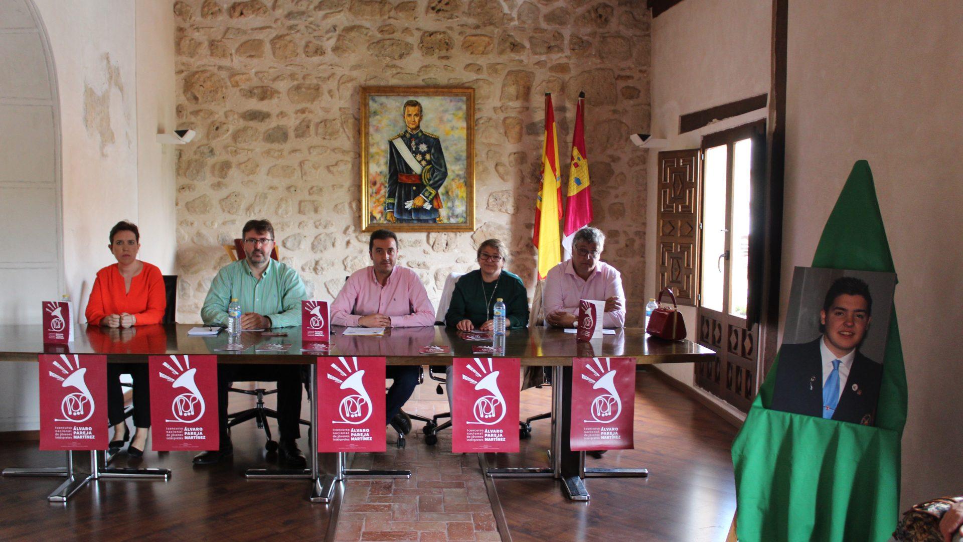 INIESTA CONVOCA EL I CONCURSO NACIONAL DE JÓVENES INTÉRPRETES ´ÁLVARO PAREJA MARTÍNEZ'