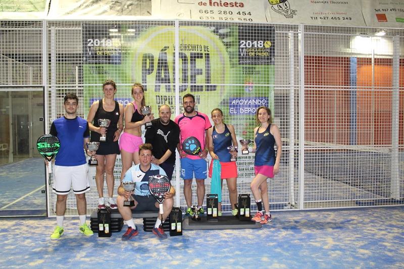 Iniesta cogió la primera prueba del VI Circuito de Pádel de Cuenca