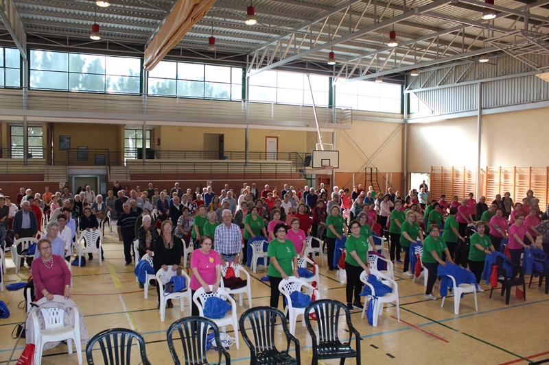 Iniesta acoge el primer encuentro provincial de actividades para las personas mayores