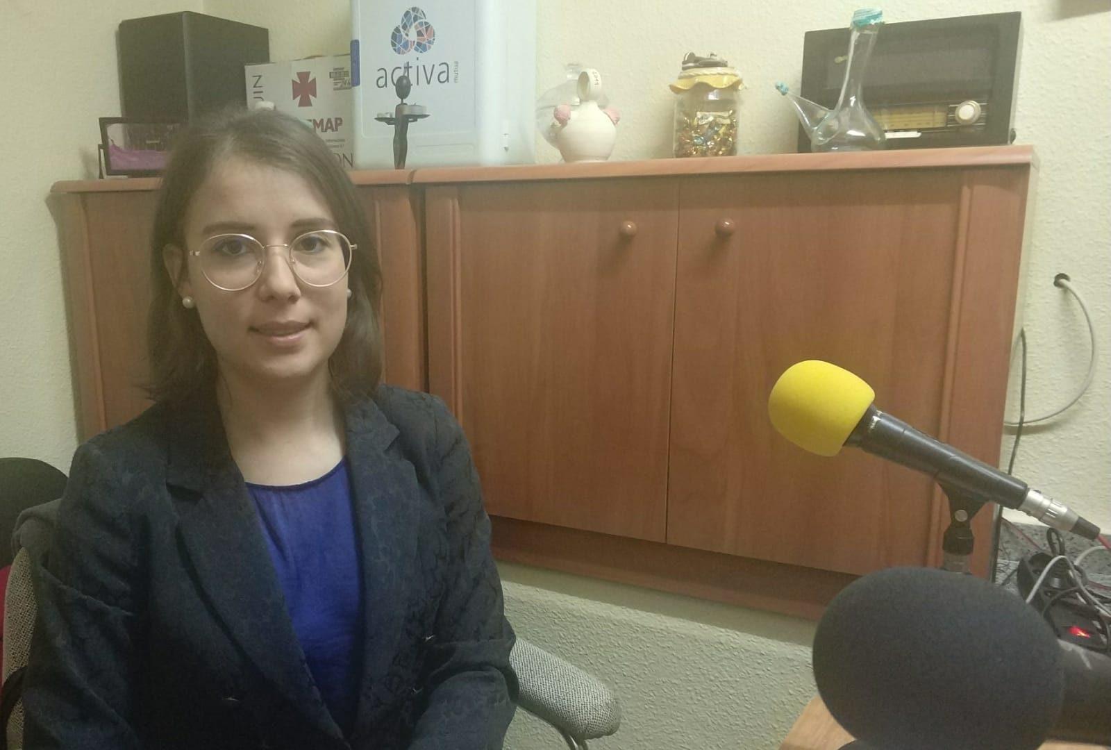 Marina Ruiz, primera notaria de Iniesta