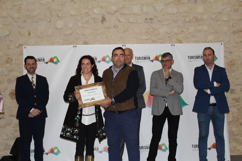 La UCI ha sido reconocida con el galardón al Turismo Enológico por Turisman