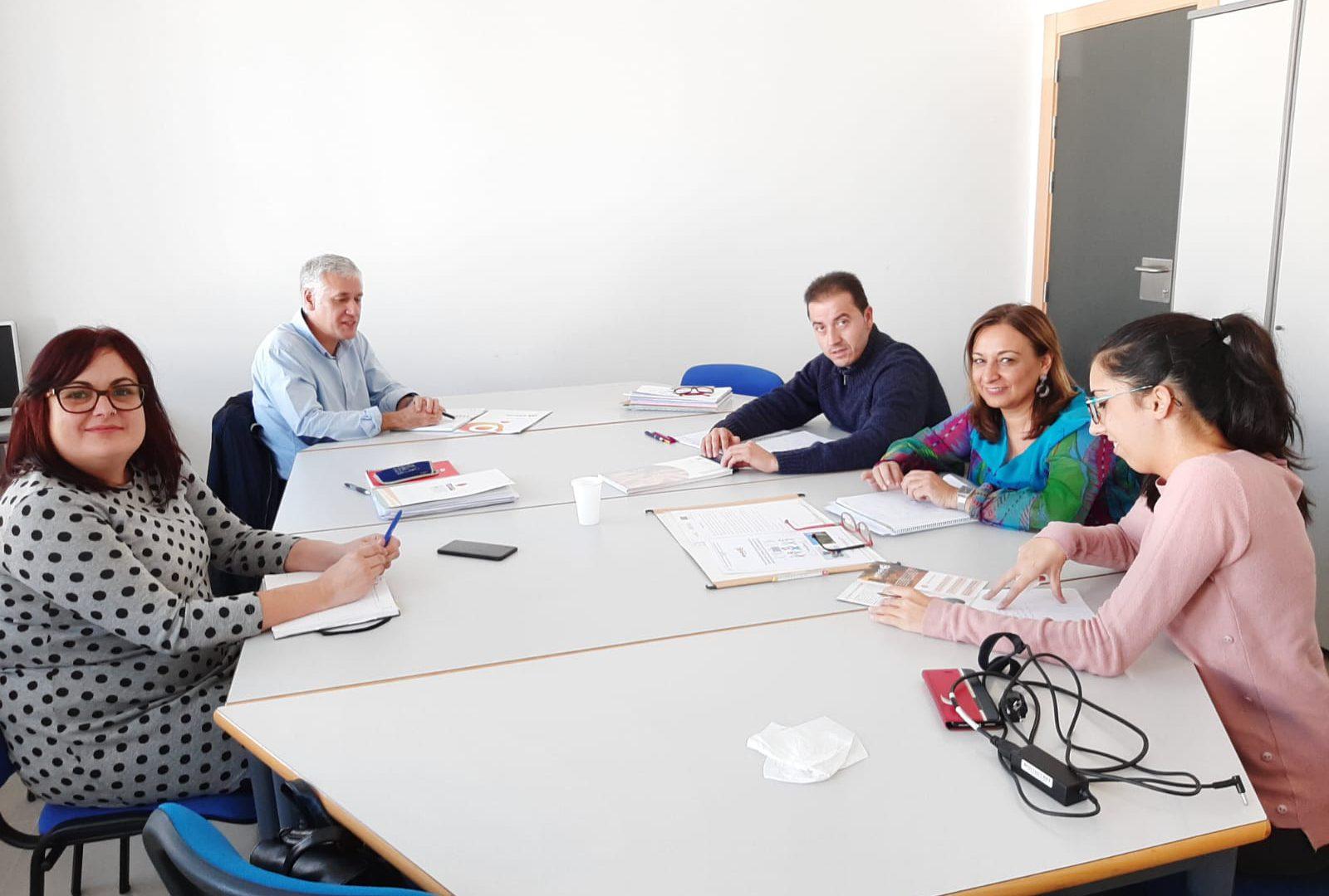 Adiman traza una alianza con Amiab en la Manchuela para la inclusión laboral de personas con discapacidad o en riesgo de exclusión