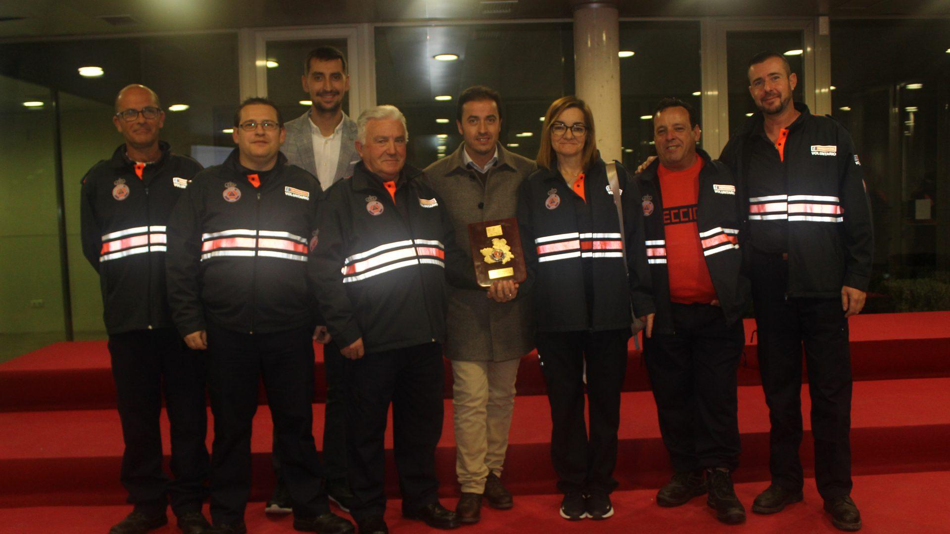 Protección Civil de Iniesta es premiada en Toledo