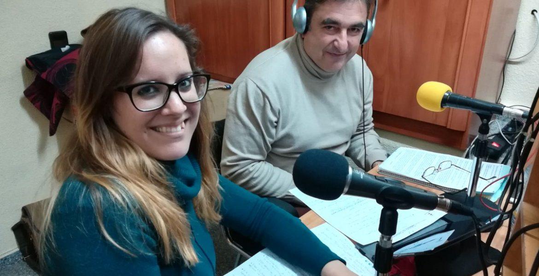 Joaquín Cuadrado visita Radio Iniesta