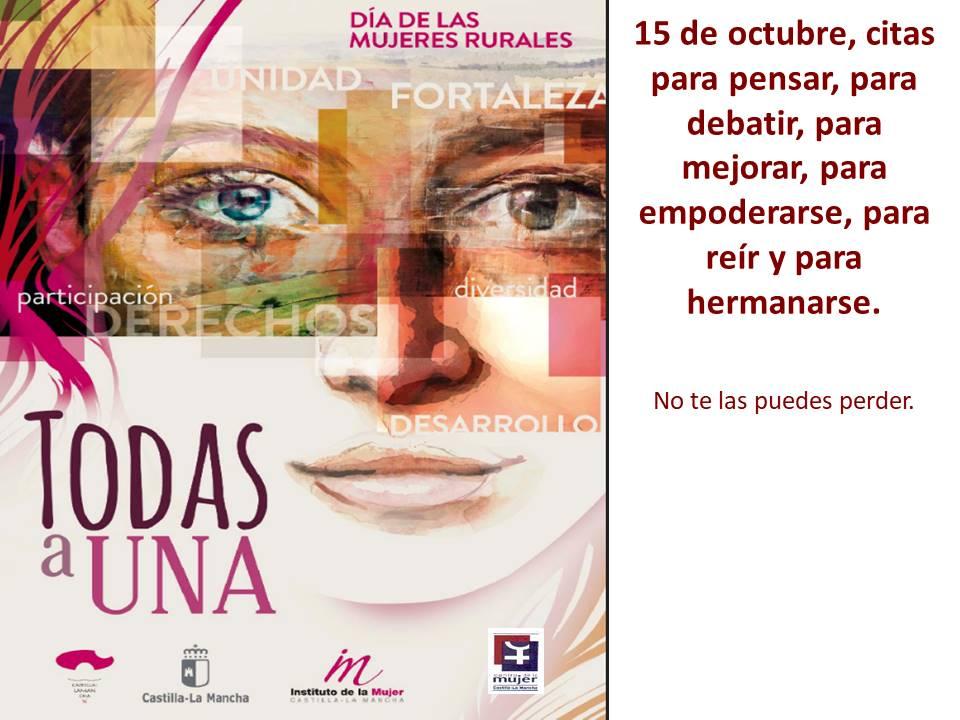 El Centro de la Mujer de Iniesta celebrará el 15 de octubre con Pilar López Díez como plato fuerte