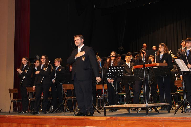 Imágenes del concierto de Santa Cecilia