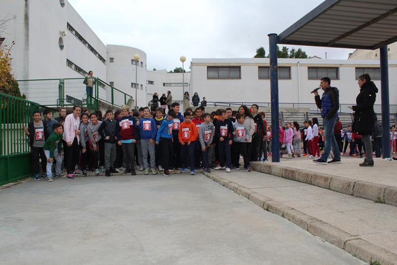 Iniesta celebra la Semana de la Infancia