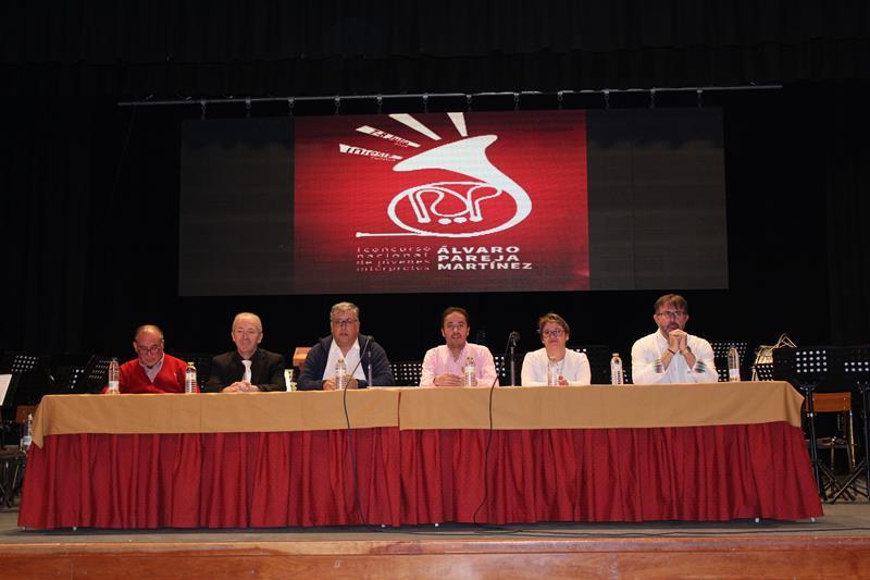 Entregados los premios del Primer Concurso Nacional de Jóvenes Intérpretes Álvaro Pareja Martínez de Iniesta