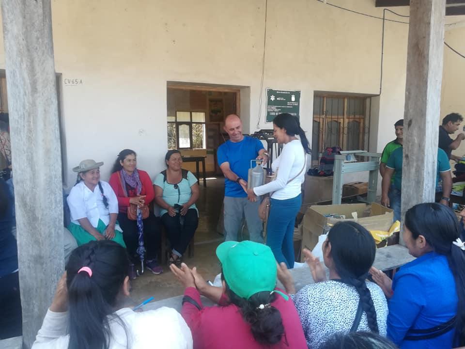 ADIMAN DESARROLLA DOS PROYECTOS HUMANITARIOS EN BOLIVIA CON EL APOYO DE LA JUNTA Y LA DIPUTACIÓN DE CUENCA
